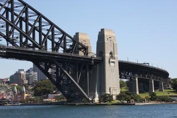 Sydney harbour bridge north tower