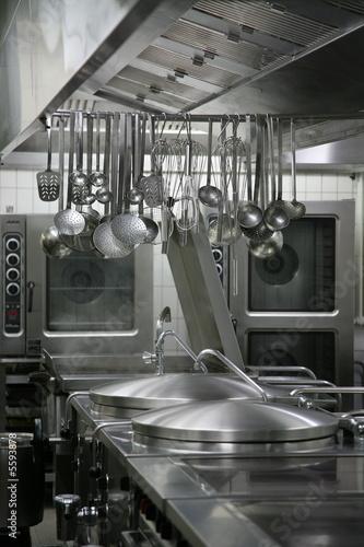 Leinwandbild Motiv Großküche