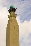 Naval War Memorial on Plymouth Hoe, Devon, England poster