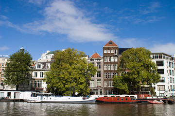 Old houses from Amsterdam