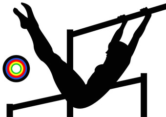 Gymnastics Uneven Bars Female