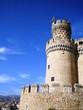 Tour du château de Manzanares el Real, Espagne