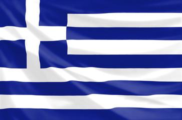 national flag of greece