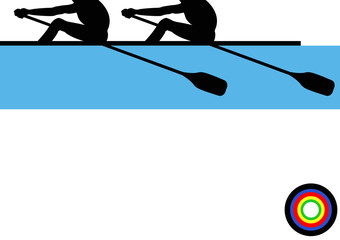 Olympics Rowing Double
