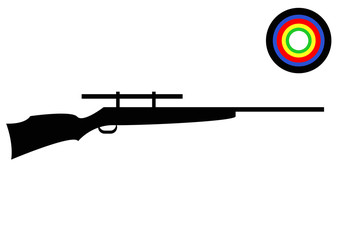 Olympics Shooting Rifle