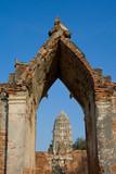 Wat Chai Wattan World Heritage. poster