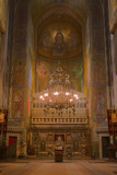 Interior image from the Orthodox Cathedral in Cluj ,Romania. poster