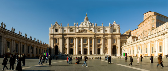 Piazza San Pietro, Roma
