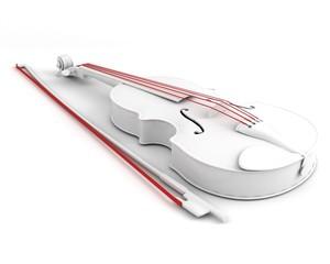 violin. main parts concept