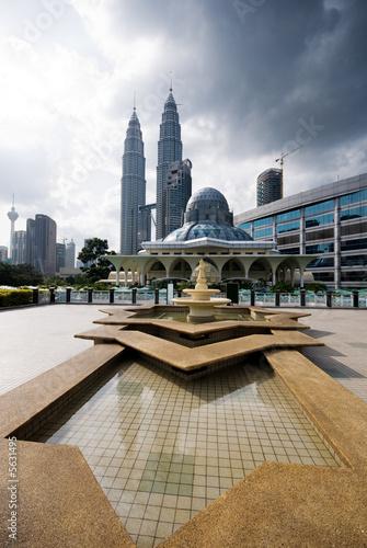 Asian architecture - Kuala Lumpur city