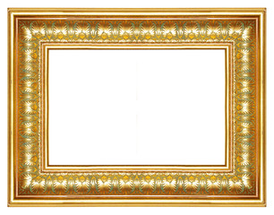 golden antique frame (from my frame collection)