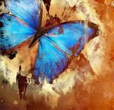 Fototapete Malerei - Natur - Insekten