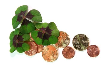Glücksklee - Geld
