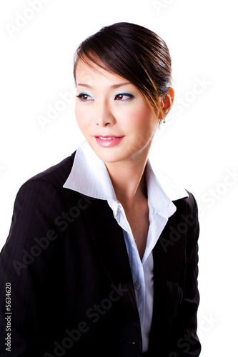 business woman with a confident beautiful smile