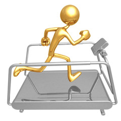 Treadmill Jogging