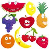 Fototapety Fruit set