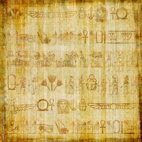 pergamin-papirusowy-z-hieroglifami