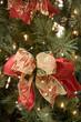 Bows on Christmas Tree