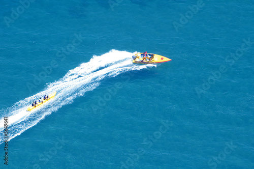 canvas print picture water sport