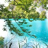 turquoise lake (Croatia) poster