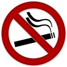 Zaloguj zakazujące palenia papierosów zacienionym miejscu publicznym