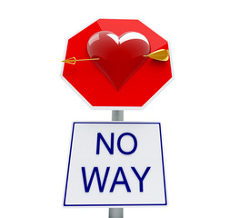 no way to love
