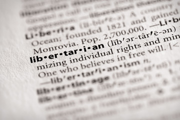 """""""libertarian"""". Many more word photos for you in my portfolio...."""