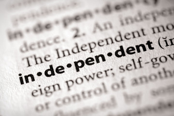 """independent"". Many more word photos for you in my portfolio...."