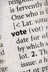 """vote"". Many more word photos for you in my portfolio...."