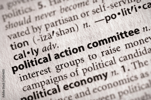 poster of political action committee. More word photos in portfolio....