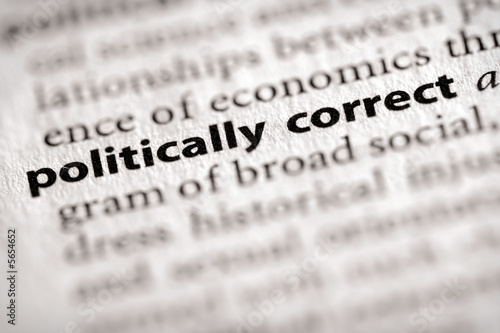 poster of politically correct. Many more word photos in my portfolio....