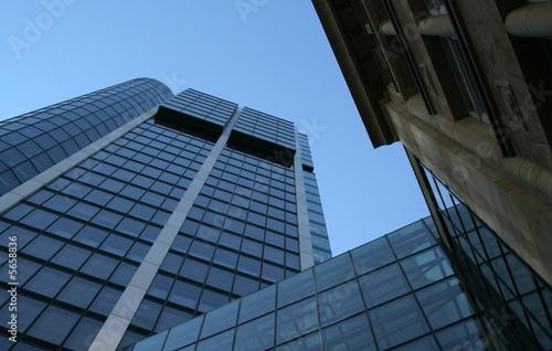 Leinwanddruck Bild Wolkenkratzer