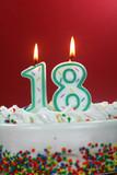 Fototapety Birthday Cake - Eighteen