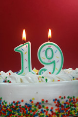 Birthday Cake - Nineteen