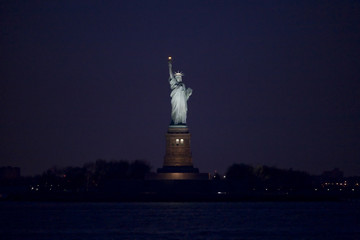Statue of Liberty at Night 6