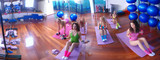 teamwork in fitness studio - 5669274