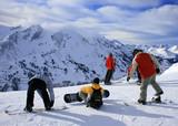 Fototapety Snowboarder