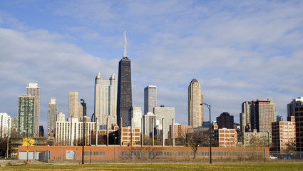 Chicago from the west side