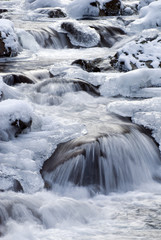 winter white water