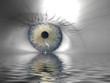 Auge + Wassereffekt