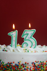 Birthday Cake - Thirteen