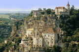 A view of the french town of rocamadour.