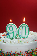 Birthday Cake - Ninety