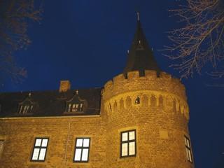 Schlossturm am Abend