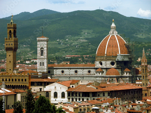 Florence, Italy - skyline and major landmarks