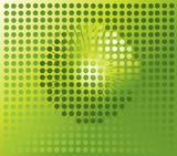 Sphere digital background, disco ball, nightclub poster