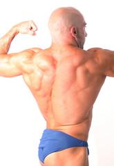 Espalda musculosa