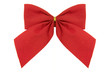 Ribbon isolated....a red ribbon with white background.