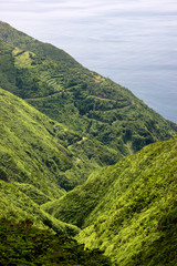 azores coastal view at s miguel island