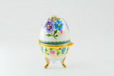 Modern egg a casket from porcelain made  in China poster